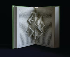 What Have We Learned book sculpture by Stephen Doyle.