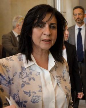 Vera Baboun.