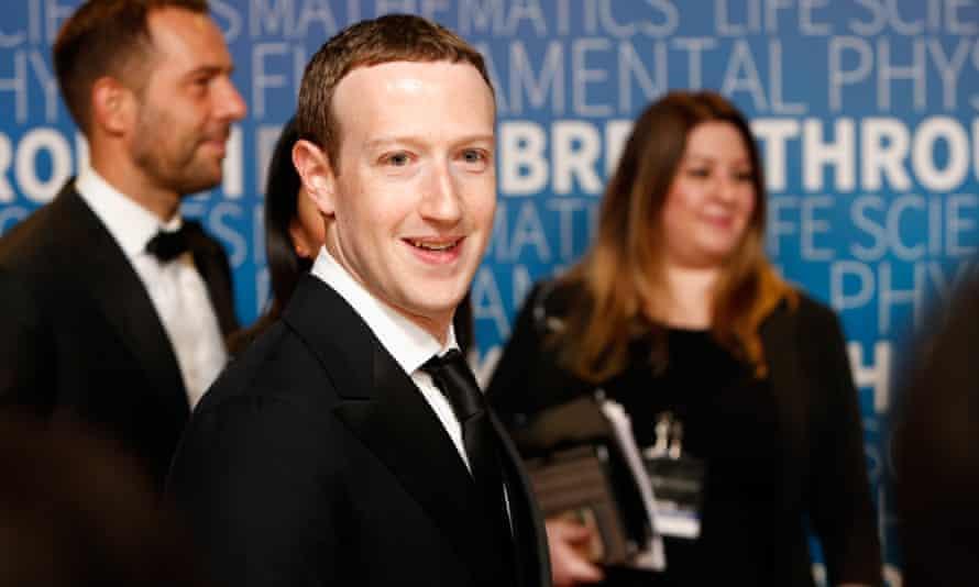 Facebook CEO Mark Zuckerberg says he had no knowledge of Definers' actions.