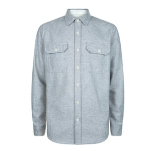 pale blue shirt long sleeves