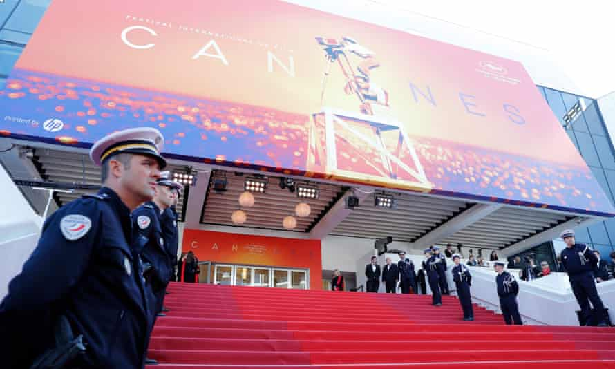 The Cannes film festival red carpet in 2019 – the festival is partnering with other festivals and cinemas on screenings.