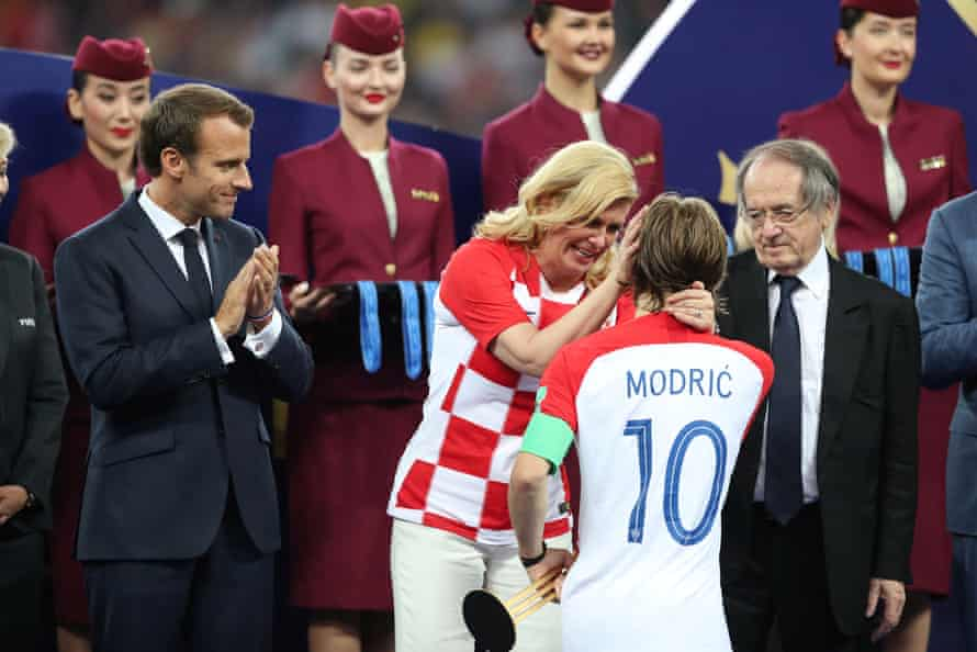 Luka Modric was named player of the tournament for his masterful displays in midfield.