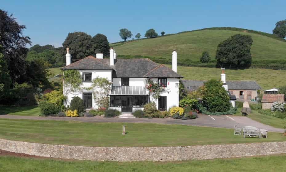 Glebe House, Devon, UK.