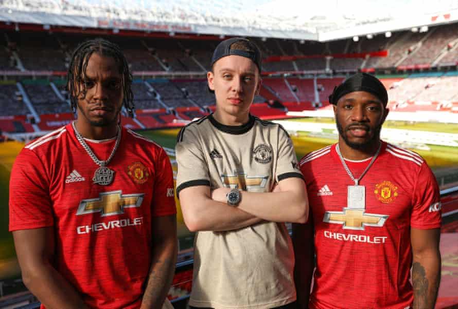 Krept and Konan, with Manchester rapper Aitch