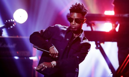21 Savage, a rapper from Atlanta, sparked the trend by posting videos that called for people to use paintballs instead of guns.