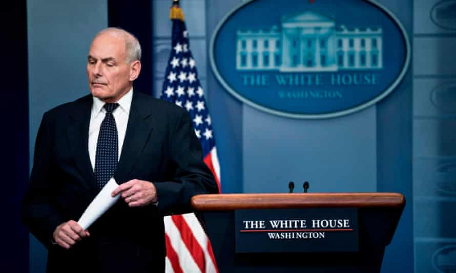 John Kelly said he was 'broken-hearted' by the politicization of fallen troops.