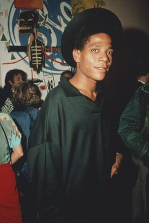 Jean-Michel Basquiat circa 1985.