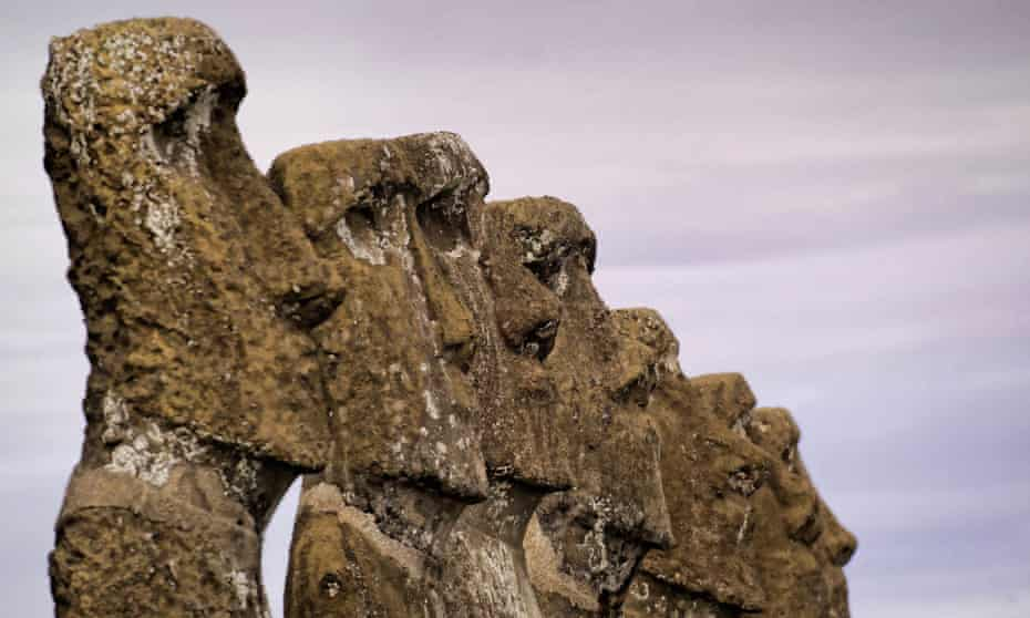 Easter Island's megaliths.