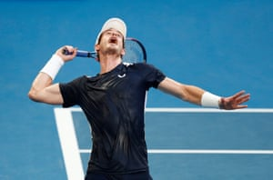Murray is made to sweat early on