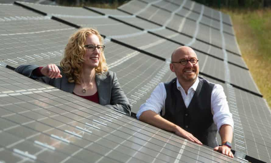 Scottish Greens co-leaders Patrick Harvie and Lorna Slater will become ministers as part of the power-sharing agreement announced last month.