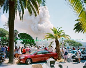 Andrea Botto records non-military explosions around Italy and Europe. Ka-Boom captures these demolitions that transform the landscape