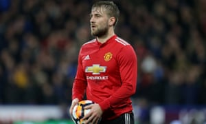Manchester United's Luke Shaw has been criticised by his manager this season