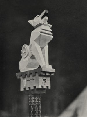 White Fox's totem, c.1928