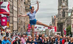 We have the capacity to make real change in the world by reaching out beyond our comfort zones and building bridges across disciplines - something the Edinburgh Fringe exemplifies.