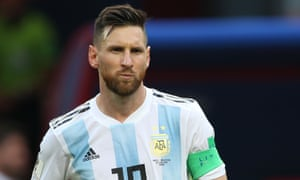 Lionel Messi's Argentina lost to France at this summer's World Cup