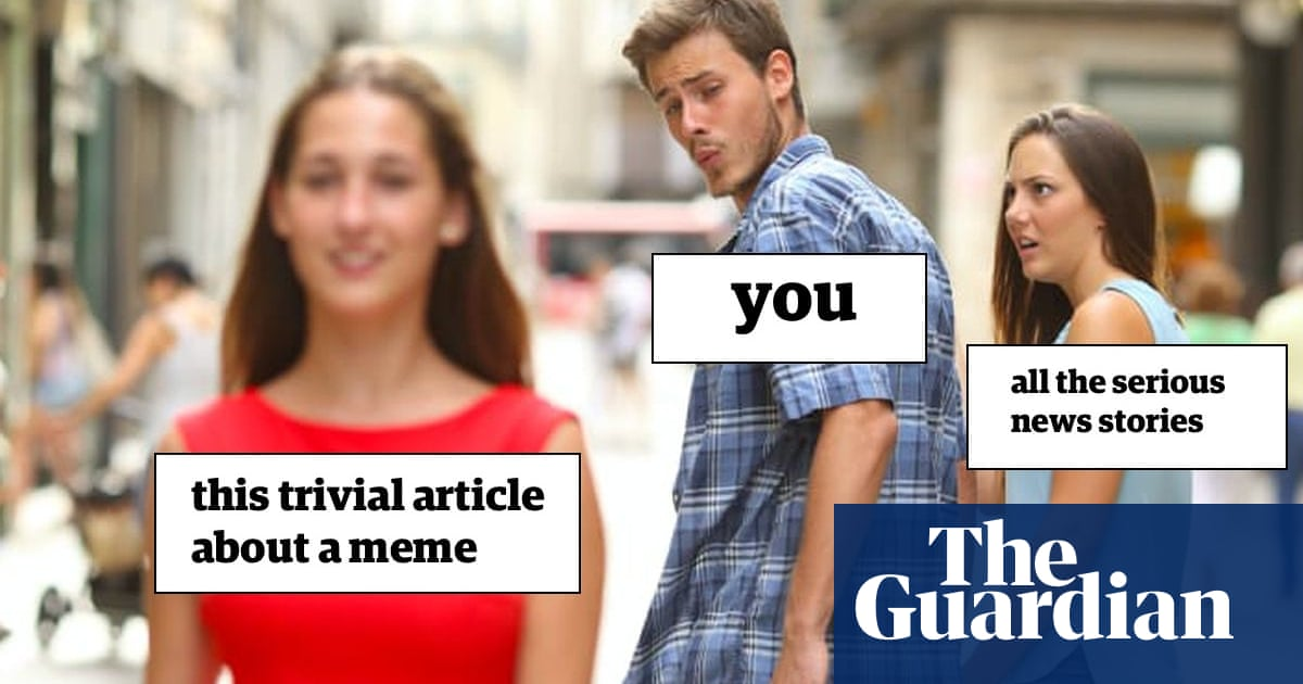 Distracted Boyfriend meme is sexist, rules Swedish ad watchdog | World news | The Guardian