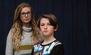 Lauren Smith and her son, Ben