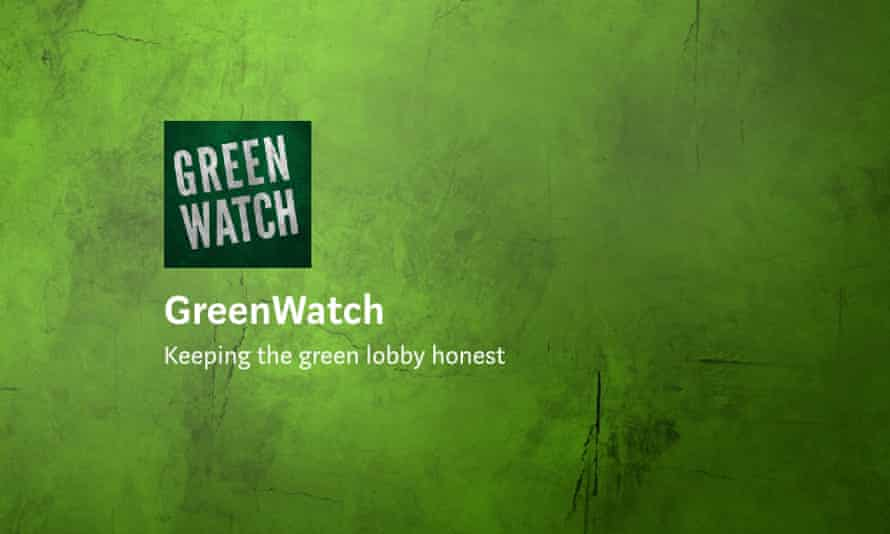 Screengrab of GreenWatch site.