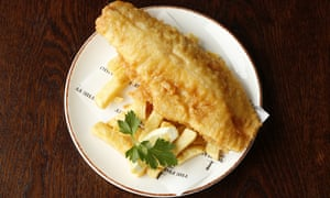 'If the fish is merely OK, the chips really aren't': fish and chips.