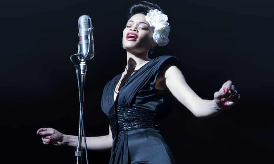 An American cultural icon … Andra Day in The United States Vs Billie Holiday..