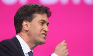 Ed Miliband at the 2014 Labour conference.
