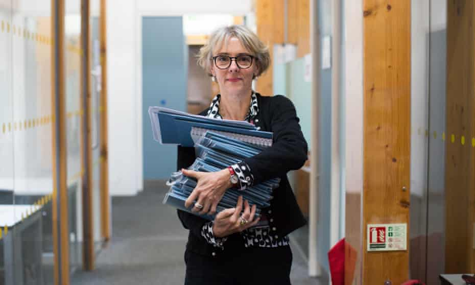 Lucy Kellaway, once a Financial Times columnist and now a secondary school teacher and the founder of educational charity Now Teach.