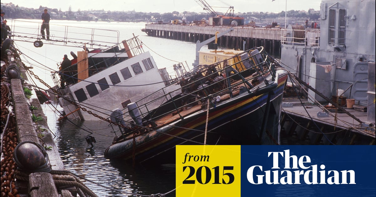 French spy who sank Greenpeace ship apologises for lethal