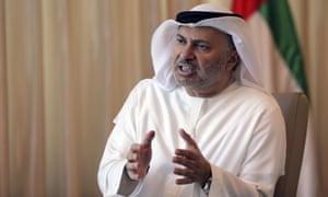 Anwar Gargash, UAE foreign minister.