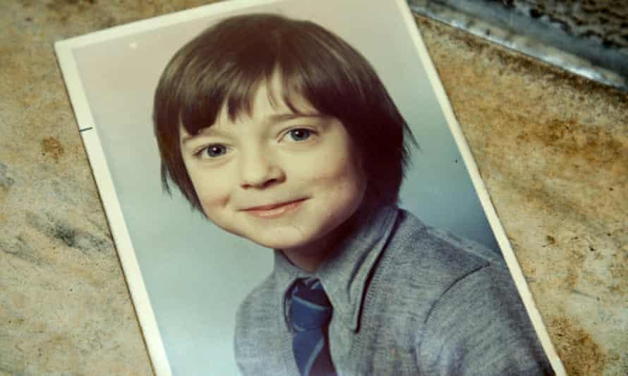 Charles Hazlewood in his primary school uniform.