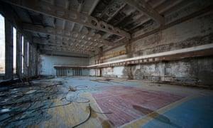 The sports hall, Pripyat.