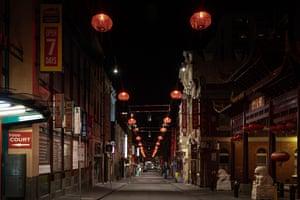 Chinatown on little Bourke Street