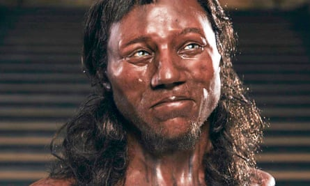 Reconstruction of Cheddar Man's face