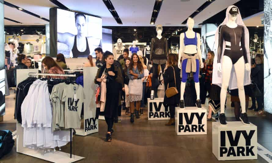 Beyonce's Ivy Park Collection Goes On Sale At TopshopLONDON, ENGLAND
