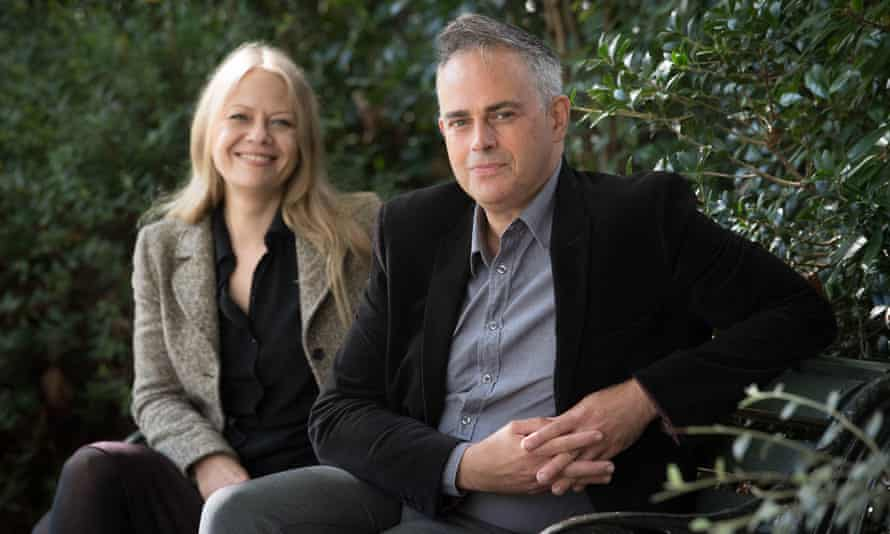 Siân Berry and Jonathan Bartley, co-leaders of the Green party.