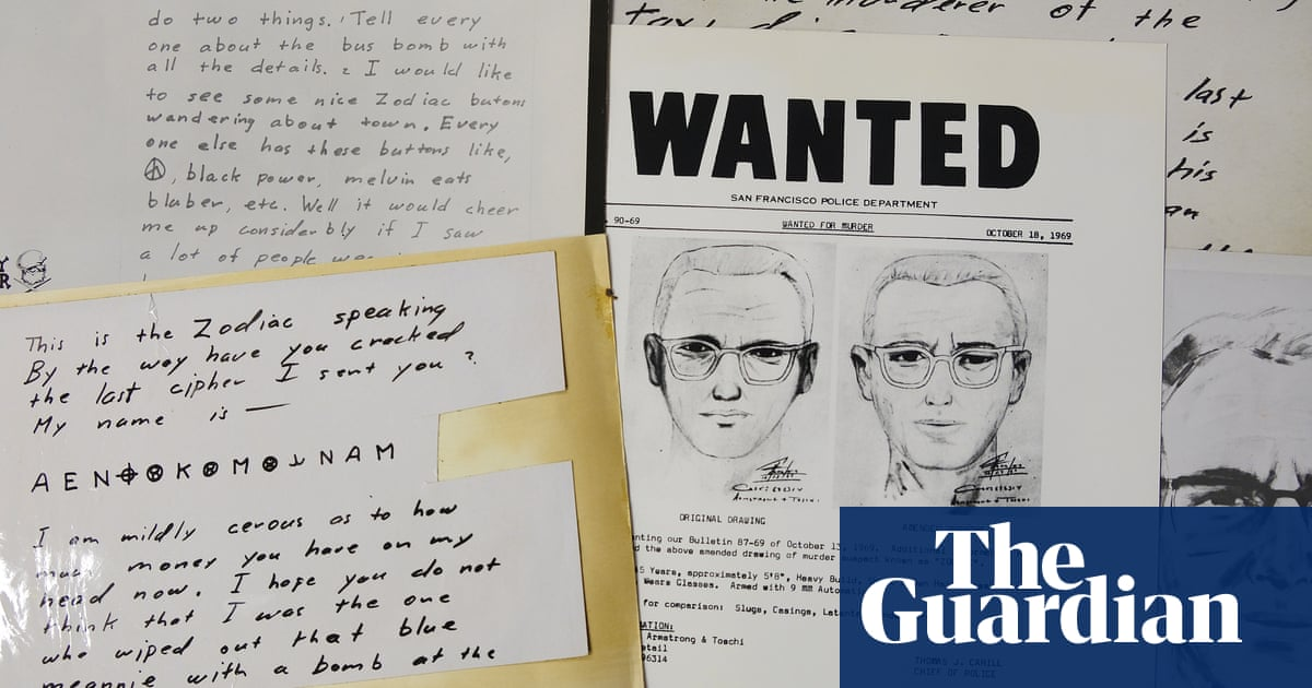 Case of the Zodiac killer takes another twist – but police say it isn't solved