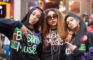 Blushhh Music is Mathew Knowles' latest band on his music label, Music World.