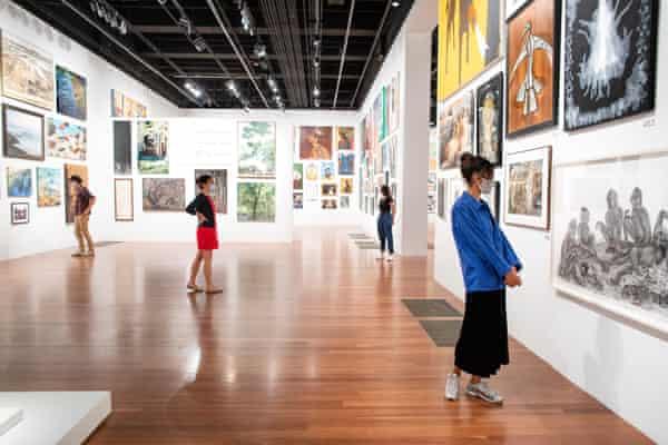 The de Young Open exhibition.