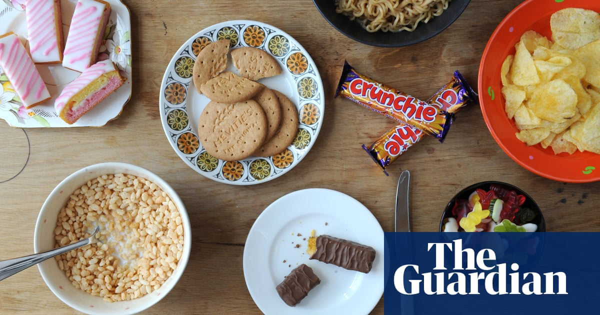 Ultra Processed Products Now Half Of All Uk Family Food Purchases
