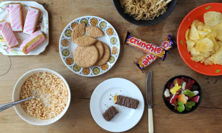 Some of the UK's best-selling ultra-processed foods.