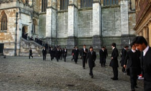 Pupils at Eton college