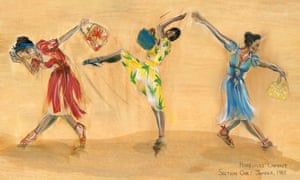 Eleanor Bull's costume designs for Windrush: Movement of the People