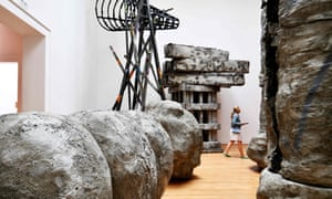 Part of Phyllida Barlow's Folly installation in Venice