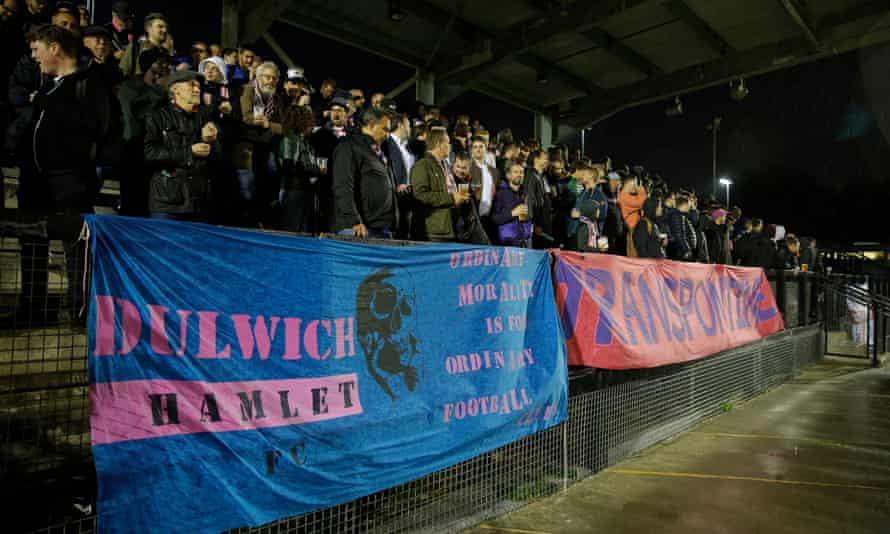 Dulwich Hamlet have been in exile at Tooting and Mitcham's Imperial Fields ground
