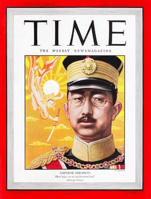 Japanese emperor Hirohito on the 21 May 1945 cover.