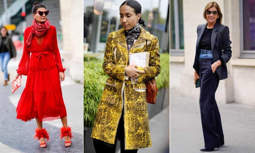 Street style at Paris fashion week.