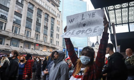 George Floyd: protests take place in cities around the world
