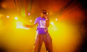 Tinchy Stryder, one of Wiley's many proteges, in 2009.