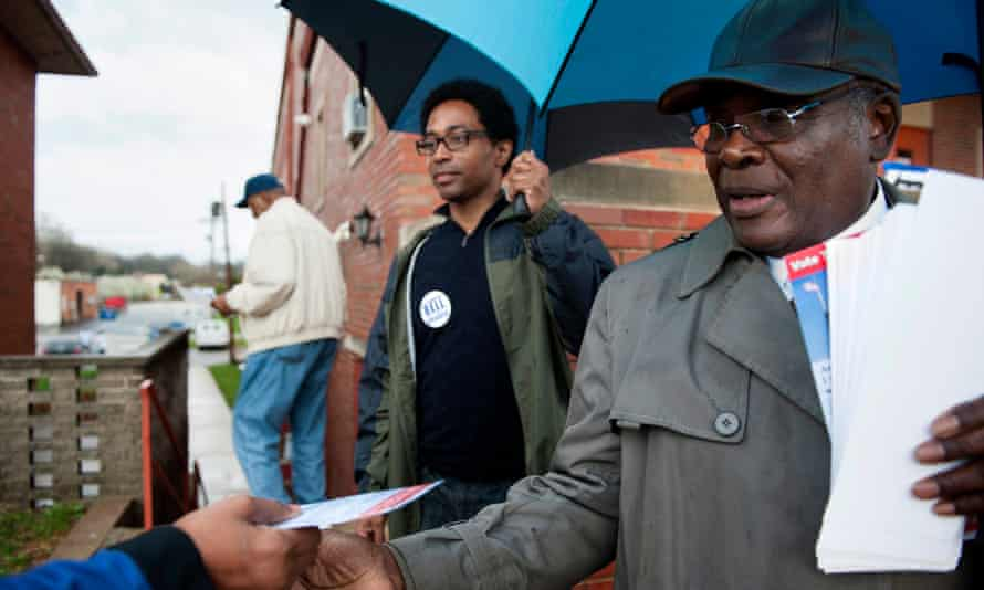 Wesley Bell in 2015. Within his first 100 days as prosecuting attorney for St Louis county his office had reduced the county's jail population by 12% percent, taking it to its lowest level since 2002.