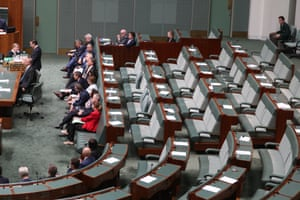 Labor's protest at the gagged debate