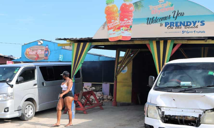 Prendy's on the Beach was once arguably the biggest and most popular seafood restaurant on Hellshire, but many of its customers have disappeared.